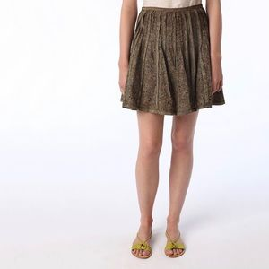 UO Autumnal Cottagecore Vibes Floral Skirt